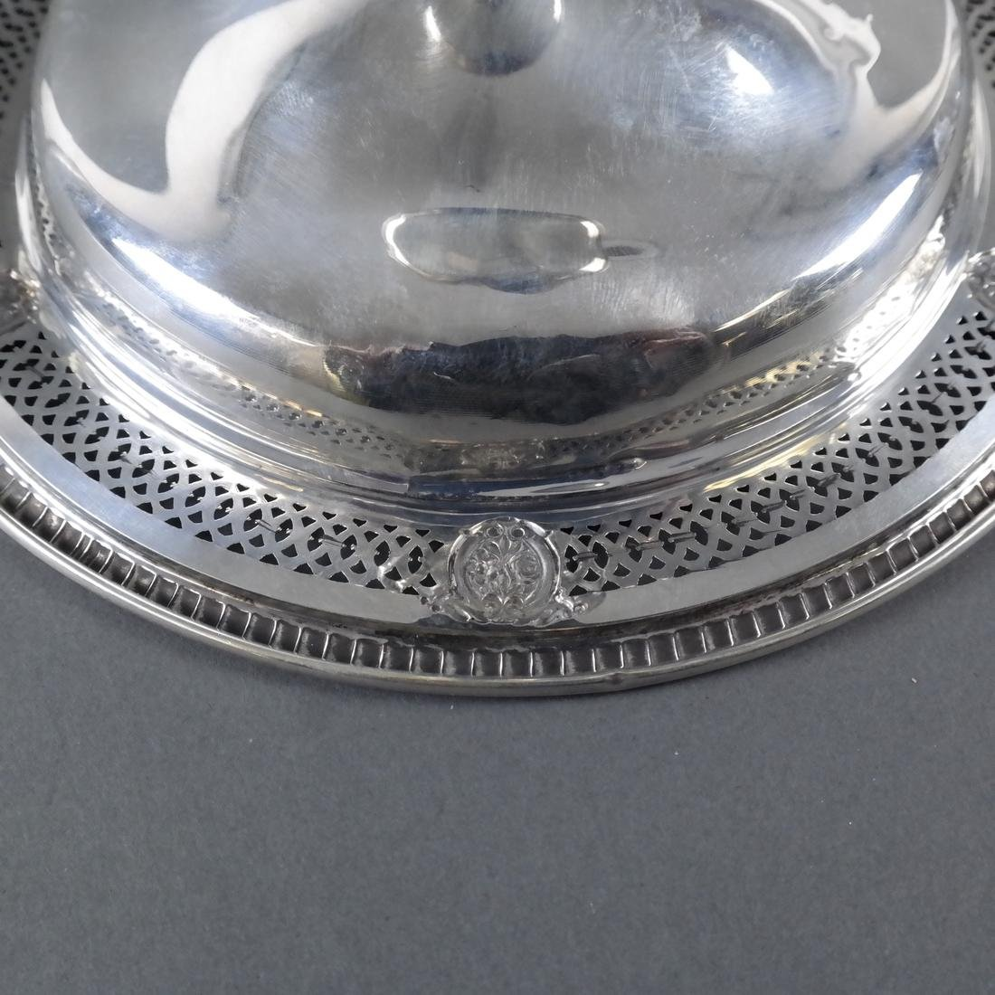 Weighted Sterling Silver Compote - 7