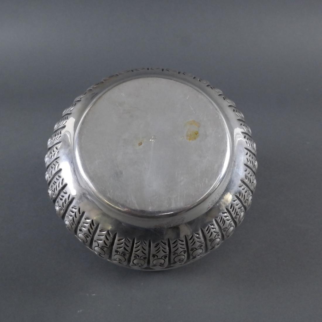 .800 Standard Silver Tea Caddy - 8