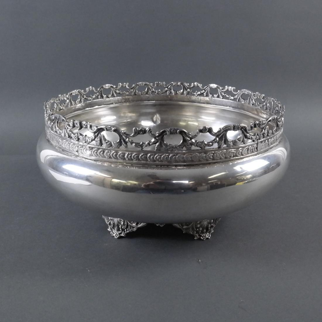 .900 Standard Silver Footed Bowl