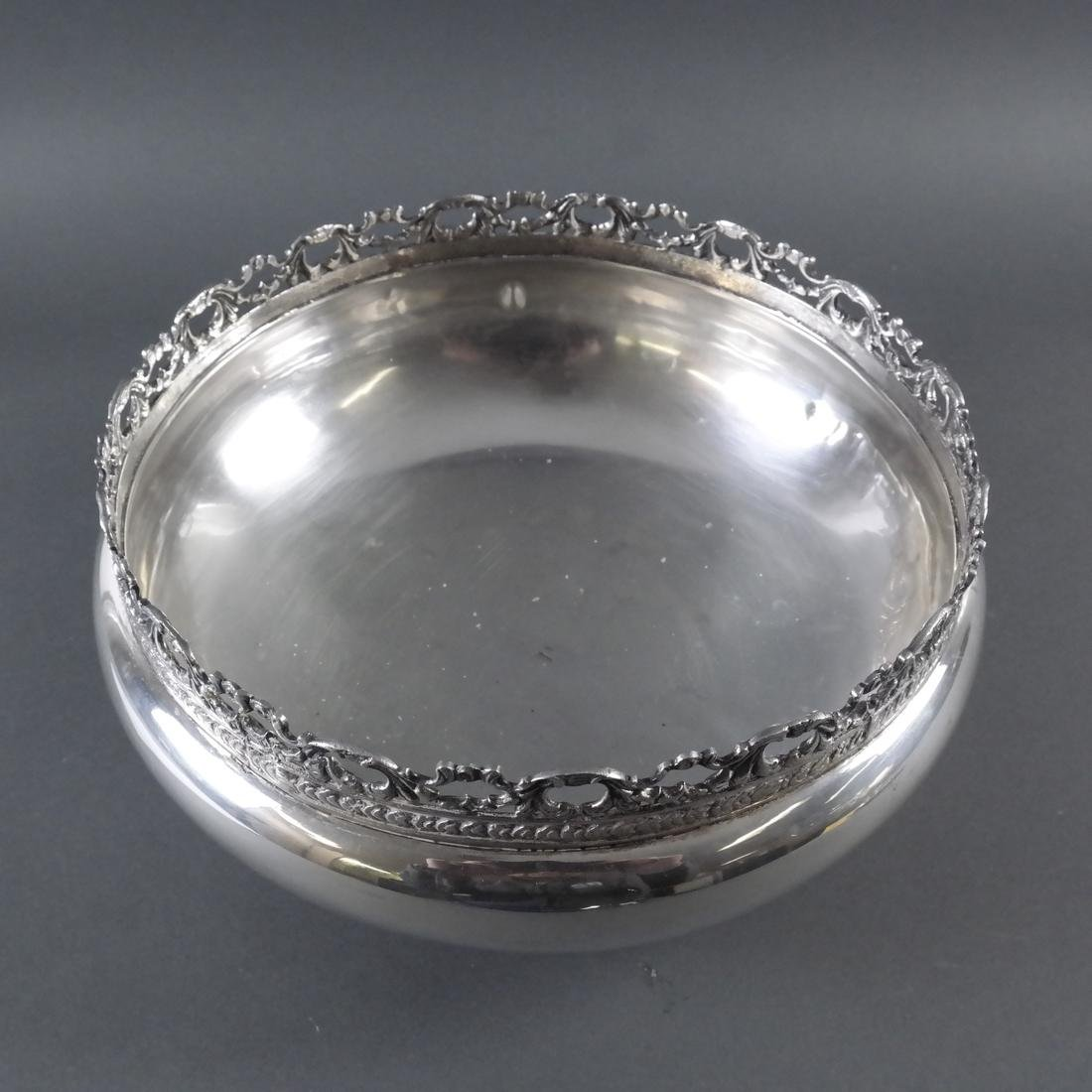 .900 Standard Silver Footed Bowl - 5