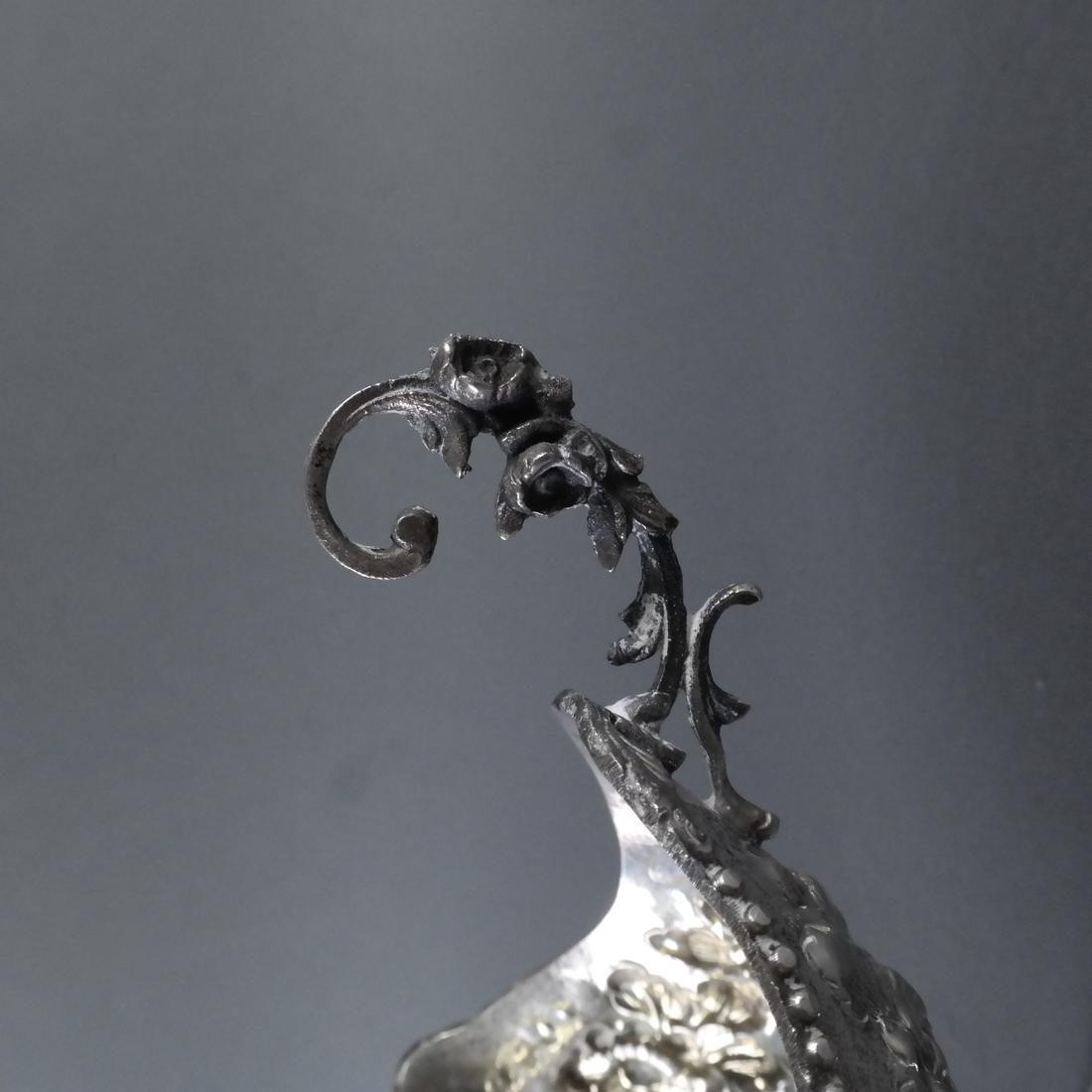 .800 Standard Silver Ornate Nut Dish - 5