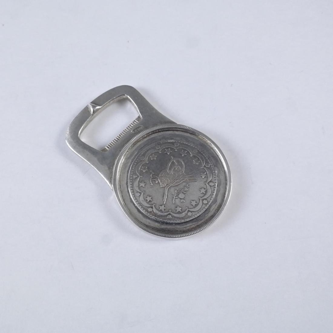 .800 Standard Silver Bottle Opener
