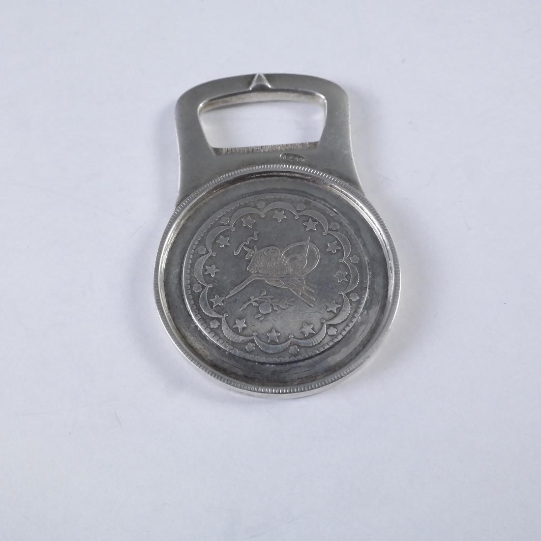 .800 Standard Silver Bottle Opener - 3