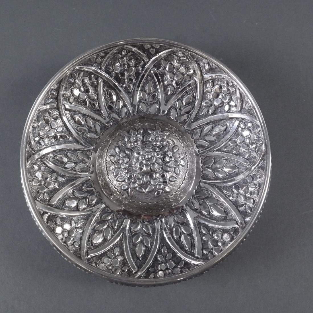 .900 Standard Silver Decorated Bowl - 3