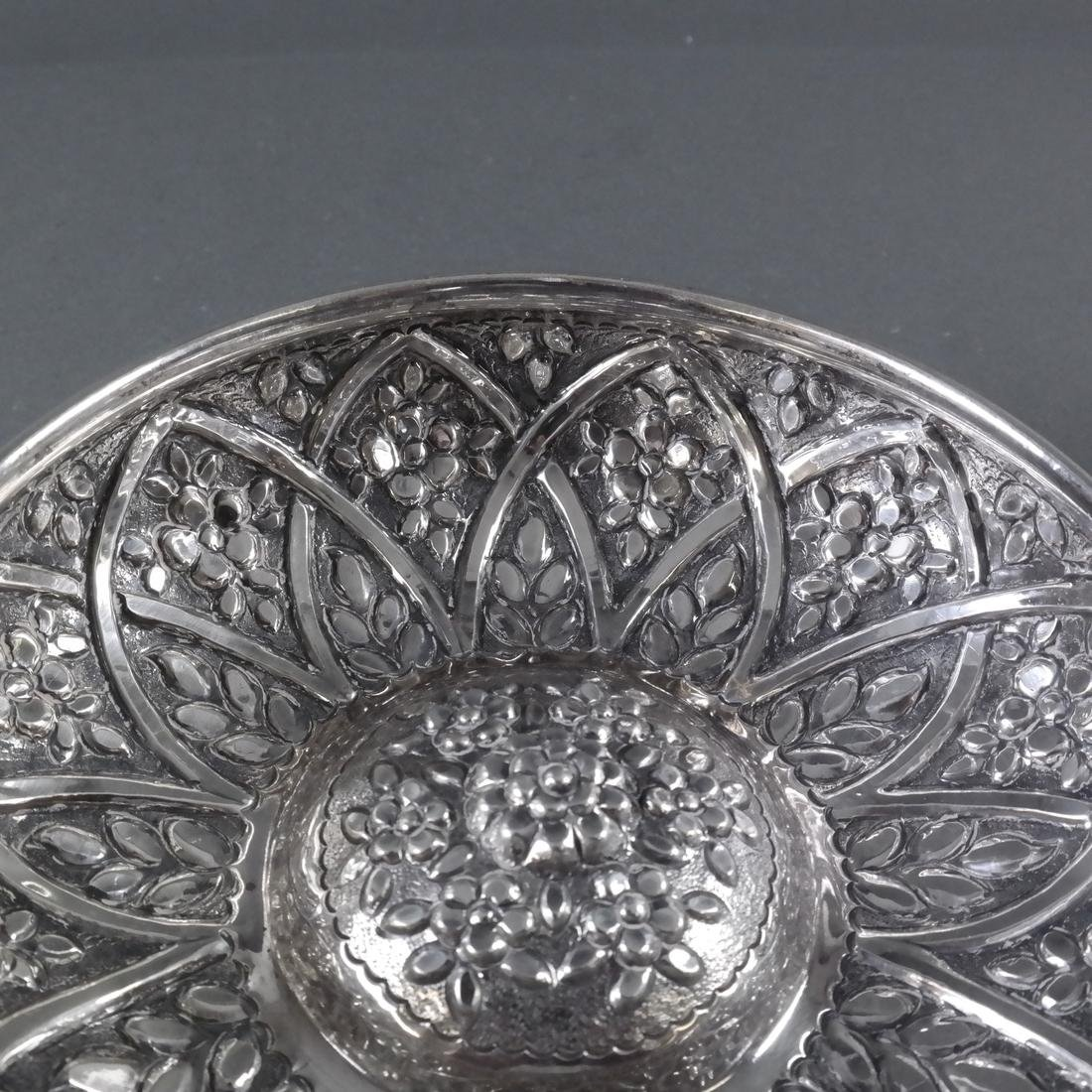 .900 Standard Silver Decorated Bowl - 4