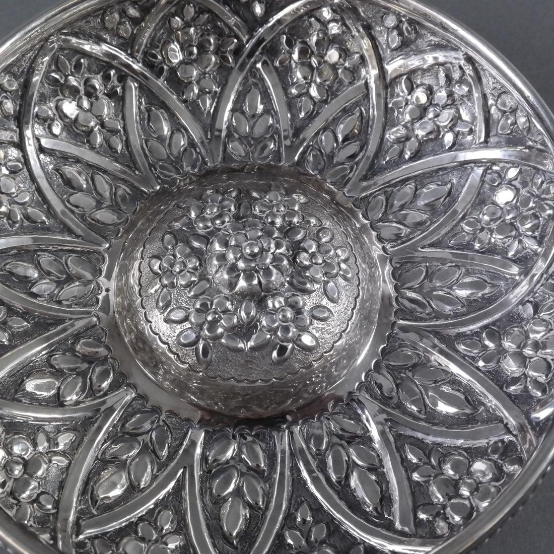 .900 Standard Silver Decorated Bowl - 5