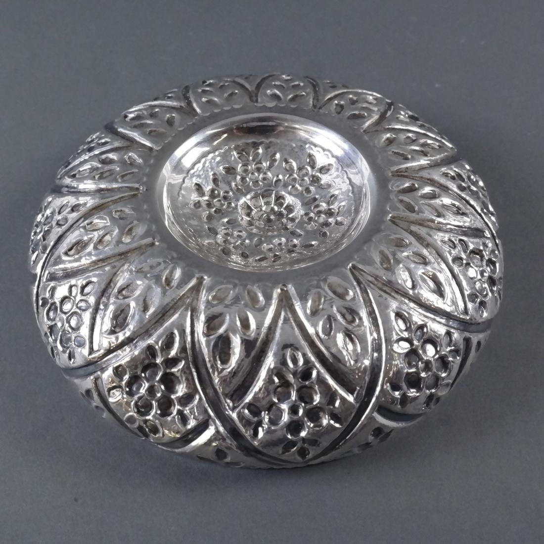 .900 Standard Silver Decorated Bowl - 7