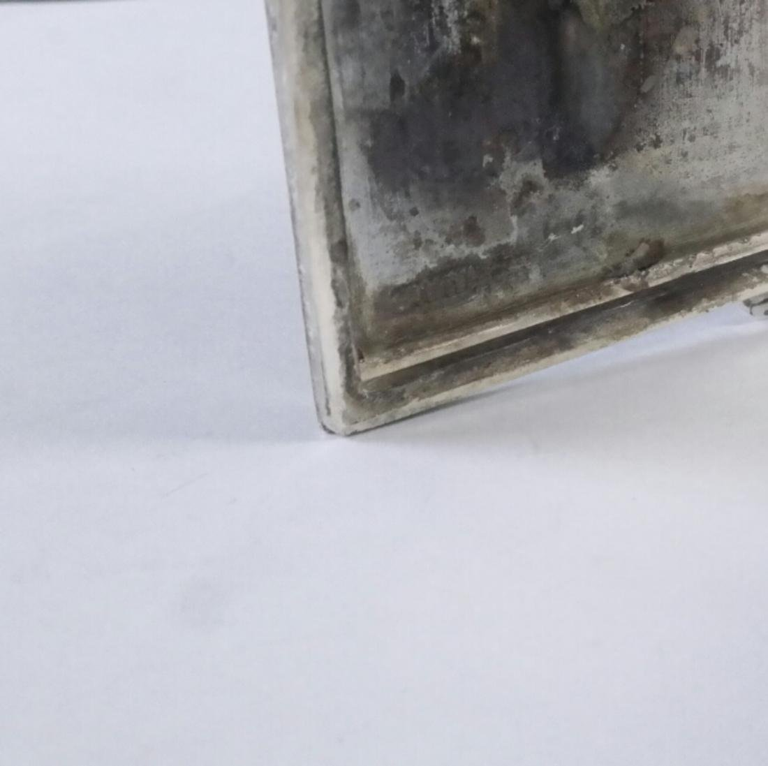 Etched Silver Hinged Box - 2