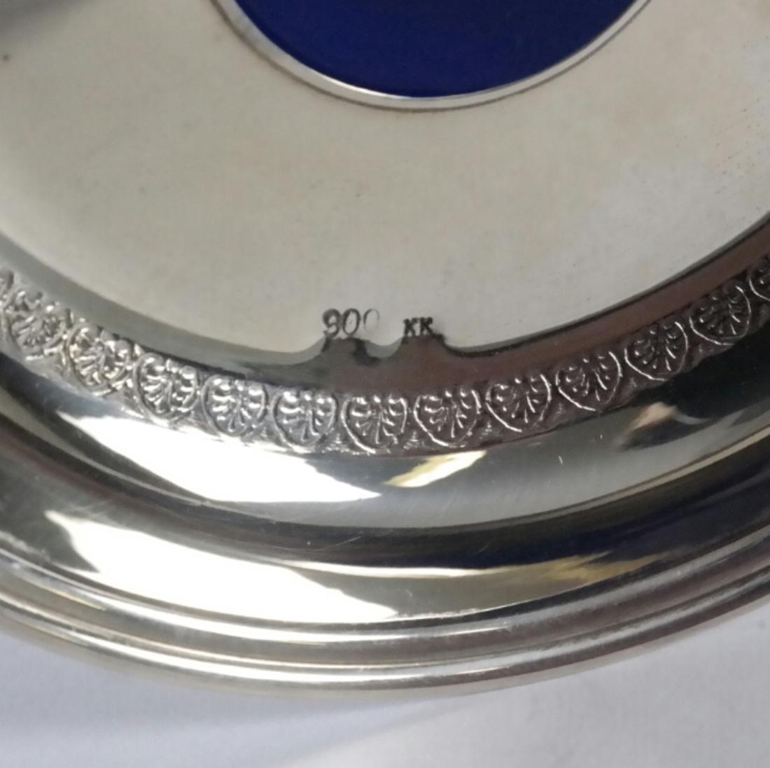Three .900 Standard Silver Bowls - 2