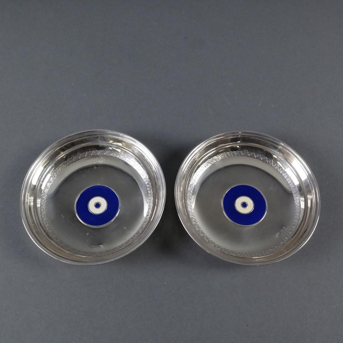 Three .900 Standard Silver Bowls - 4