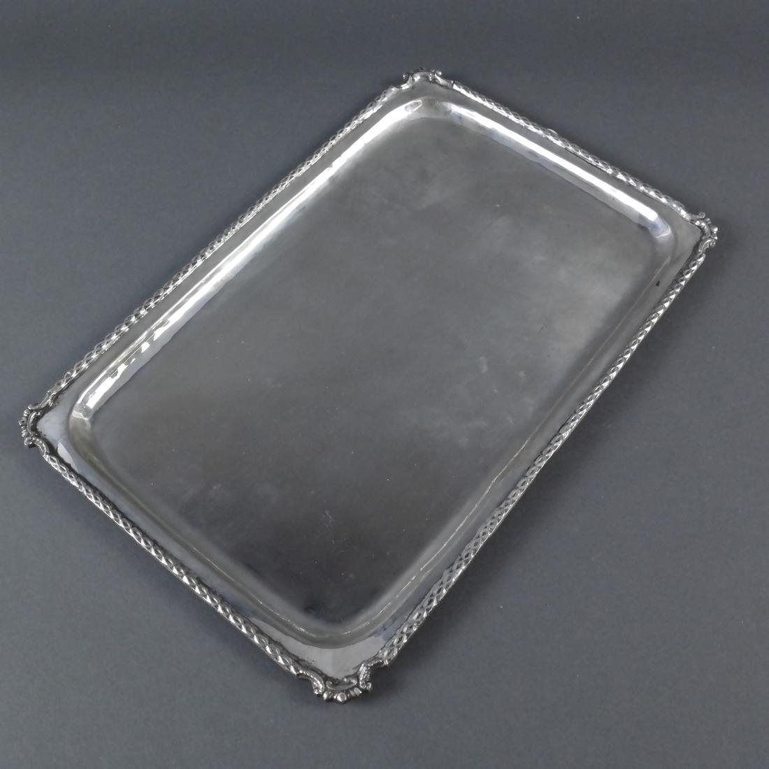 Two .800 Standard Silver Trays - 5