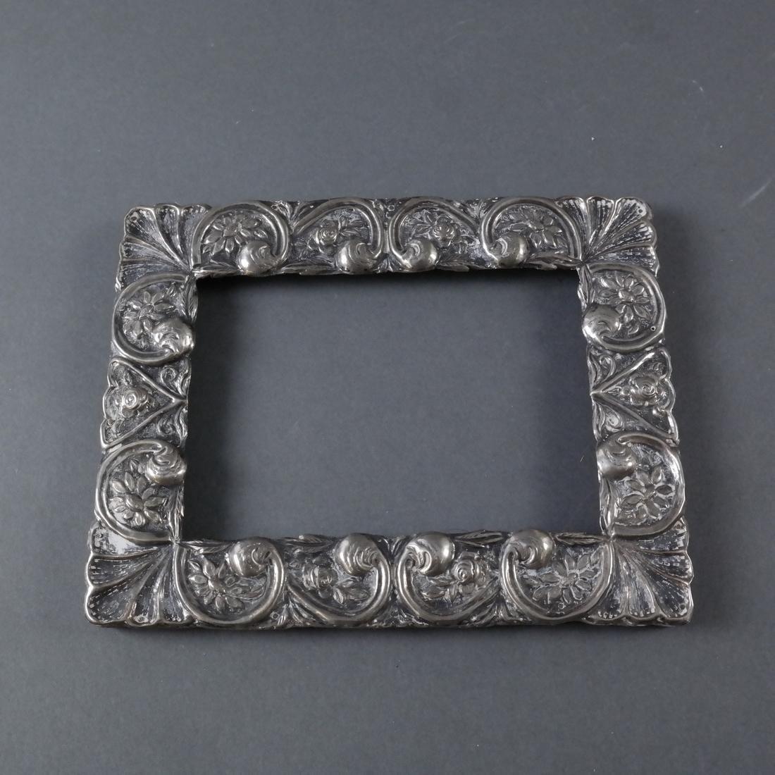 Seven Silver Photo Frames - 4