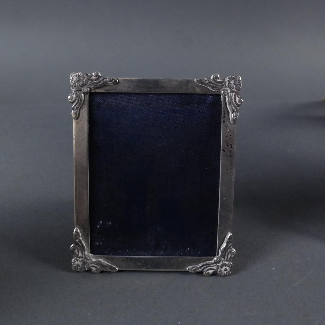 Seven Silver Photo Frames - 7