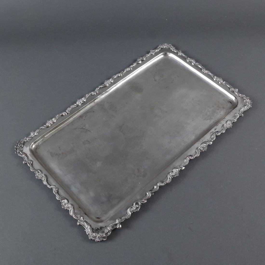 Three Various Silver Trays - 3