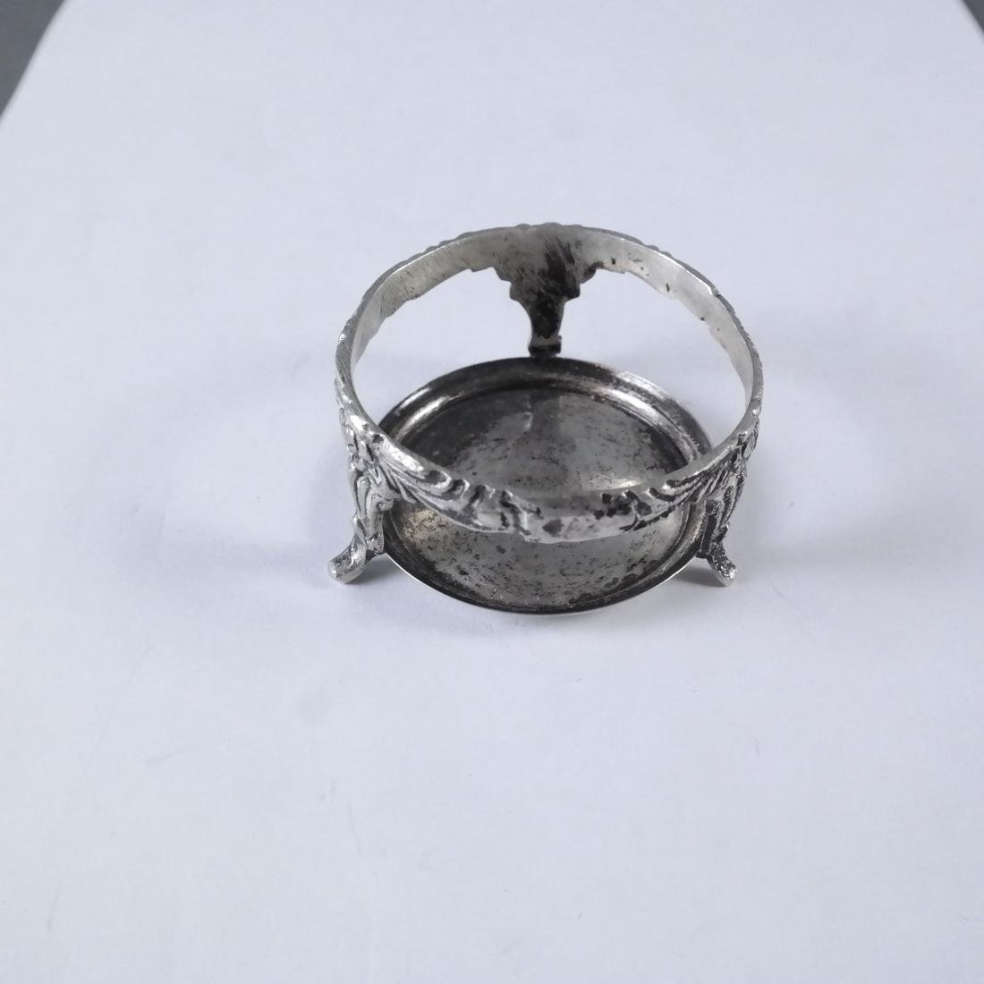 Assorted Continental Silver Small Items - 9