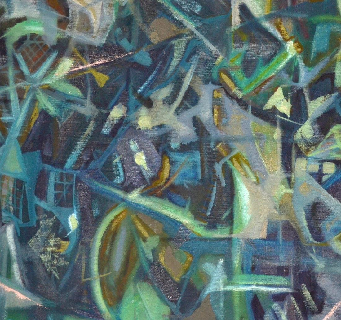 1955 Abstract Oil on Canvas - 2