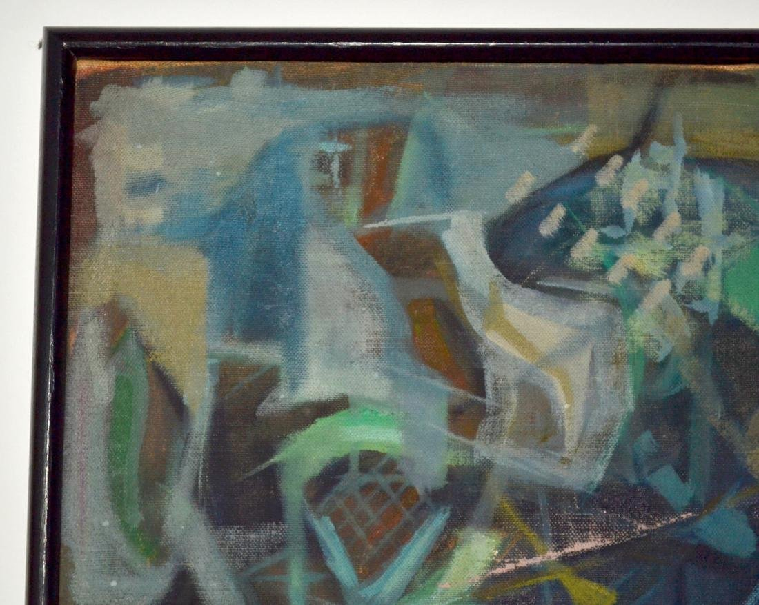 1955 Abstract Oil on Canvas - 3