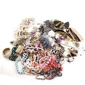 Assorted Sterling Items Costume Jewelry