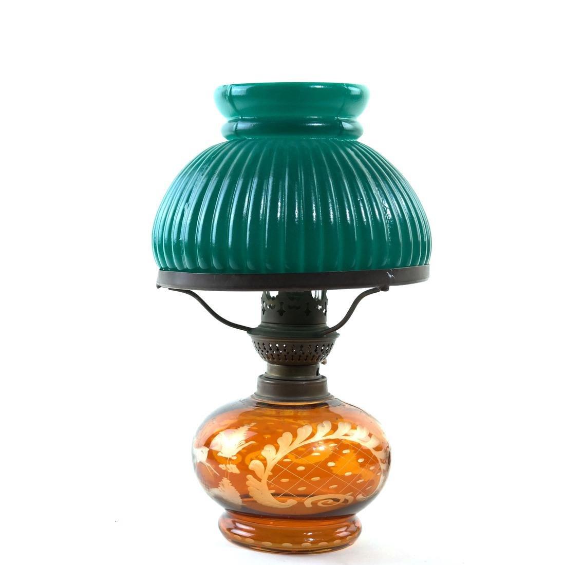 Cut Glass Table Lamp