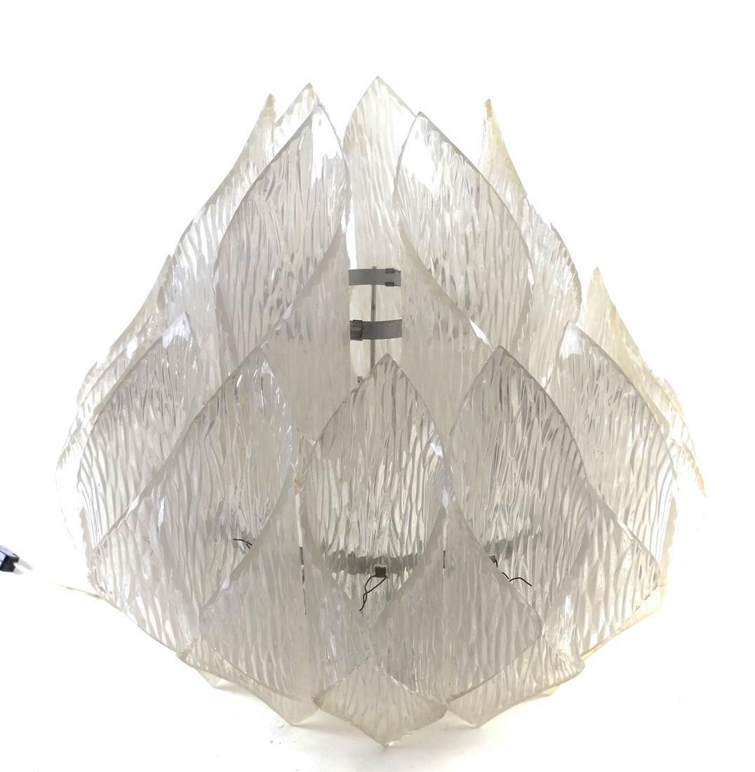 Lucite 'Lotus' Lamp
