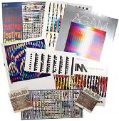 Yaacov Agam Group Of Assorted Works