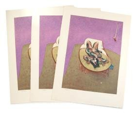 After Francis Bacon, Duplicate Untitled Works -