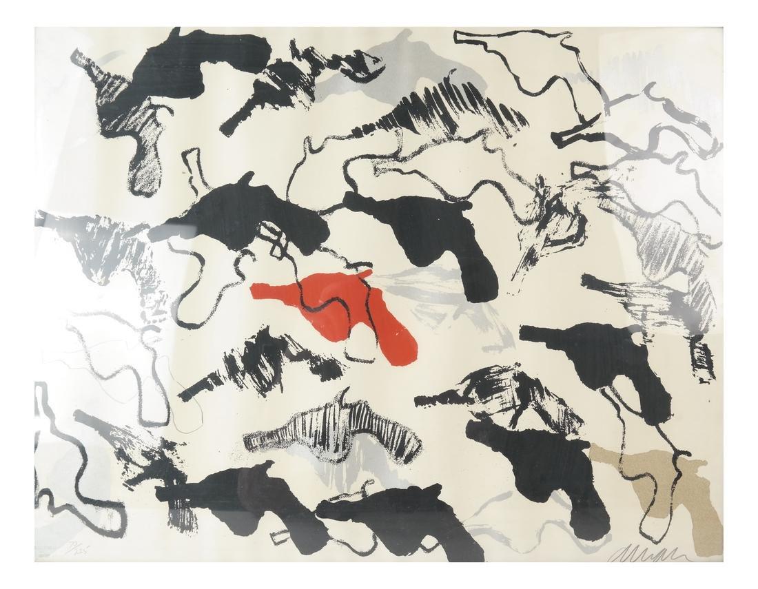 "Arman (Armand Fernandez), ""Boom-Boom"" - Lithograph"
