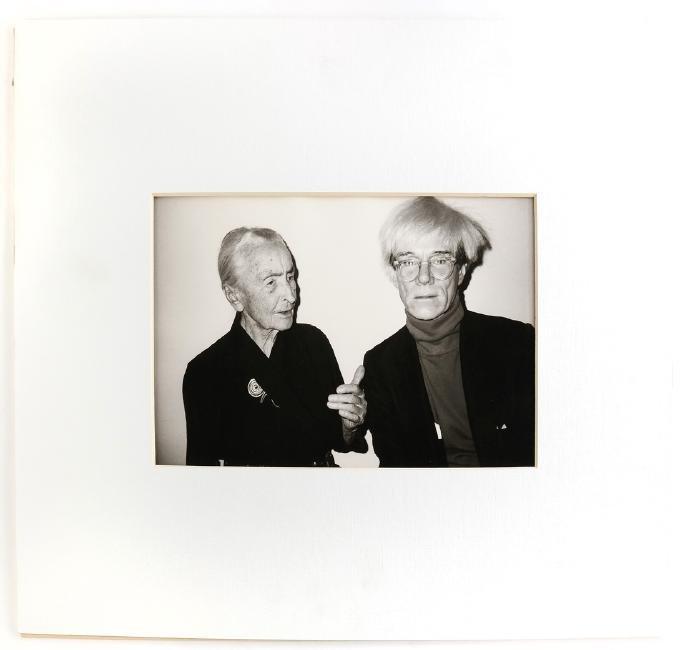 Christopher Makos, Warhol And Georgia O'Keefe Portrait