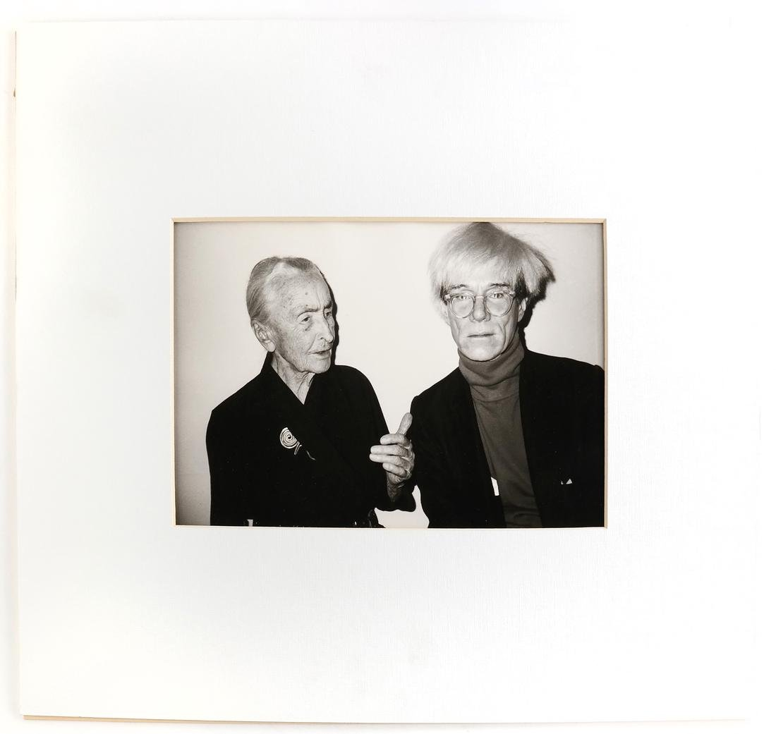 Christopher Makos, Andy Warhol And Georgia O'Keeffe