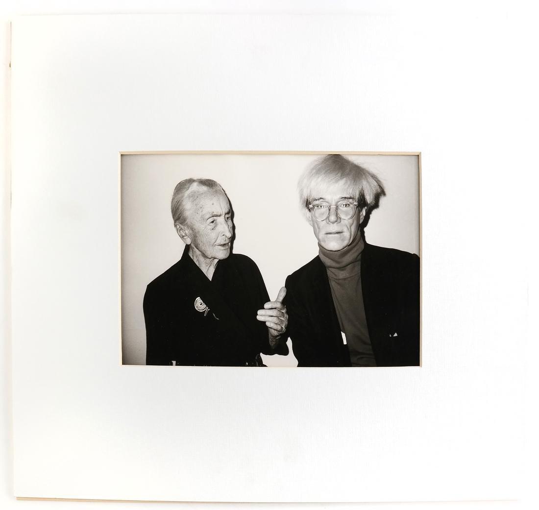 Christopher Makos, Andy Warhol And Georgia O'Keeffe