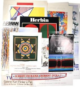 Group of Assorted International Exhibition Posters