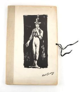 """Arbit Blatas, """"...Marcel Marceau,"""" Folio Of"""