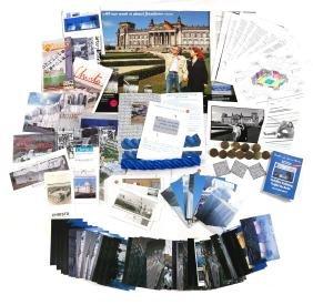 "Christo & Jeanne-Claude, ""Wrapped Reichstag"" Ephemera"