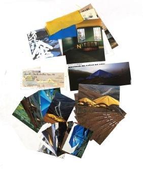 "Christo&Jeanne-Claude, ""The Umbrellas"" - Ephemera"