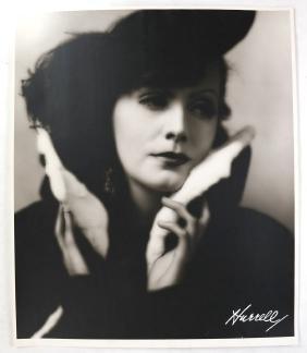 George Hurrell, Folio Portrait of Greta Garbo - Print