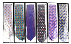 After Andy Warhol, Six Silk Neck Ties