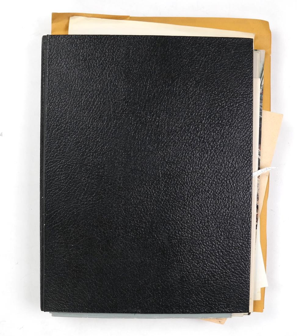 Various Artists -  Black Sketchbook with Loose Ephemera