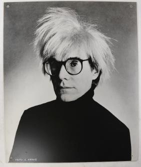 Christopher Makos, Warhol Portrait - Large Commercial