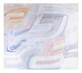 Chryssa, Geometric Abstract - Mixed Media