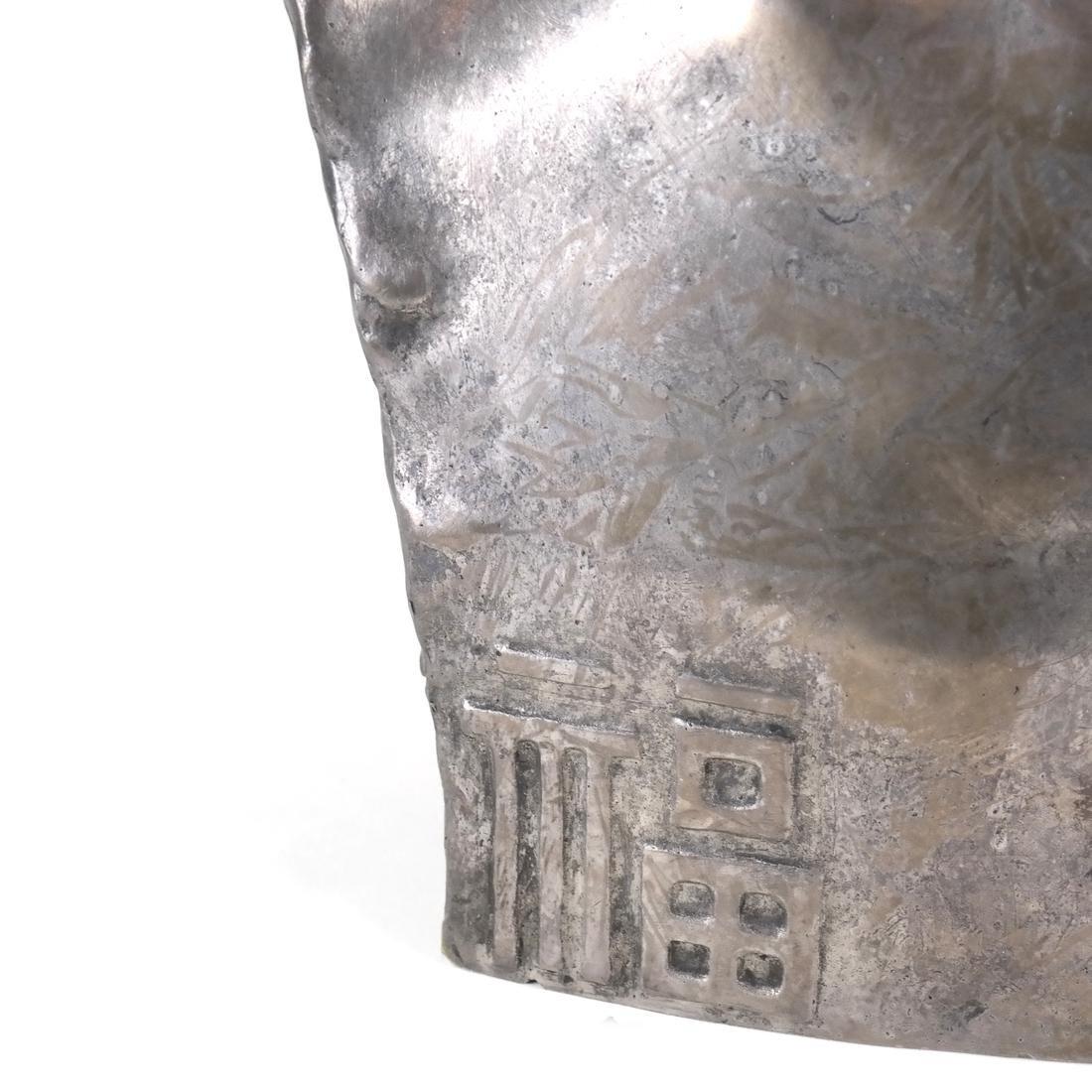 Chih-Fan Bronze Sculpture by Jean Mich - 5