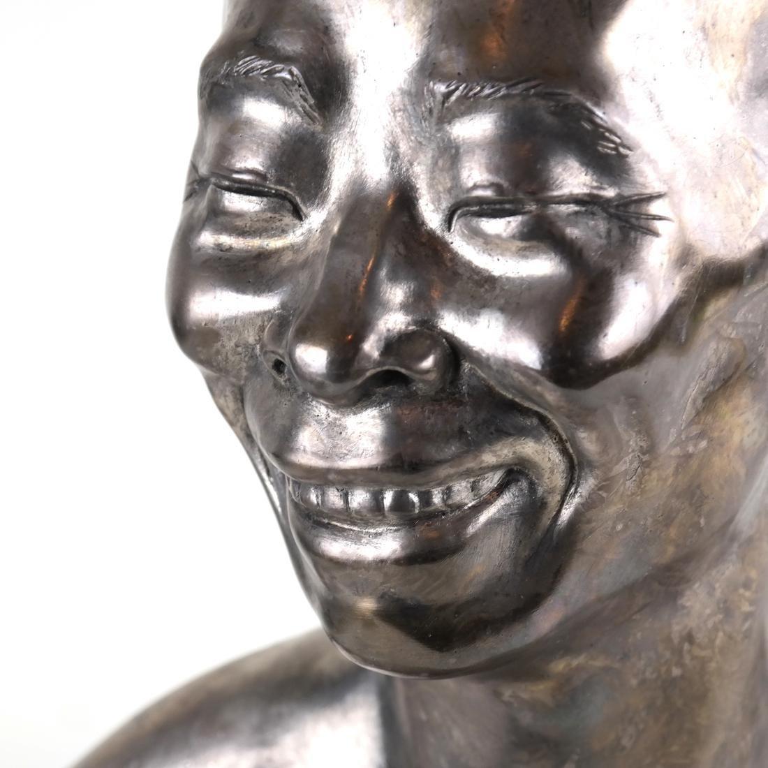 Chih-Fan Bronze Sculpture by Jean Mich - 6