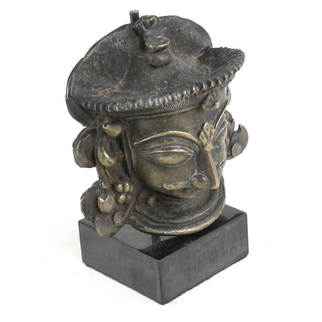 Bronze Goddess On Stand