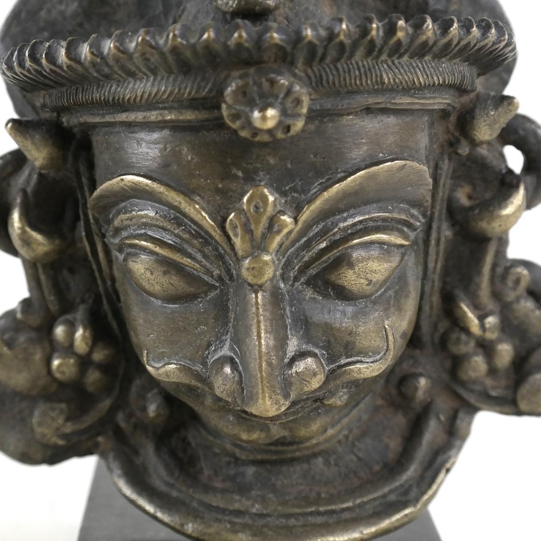 Bronze Goddess On Stand - 3