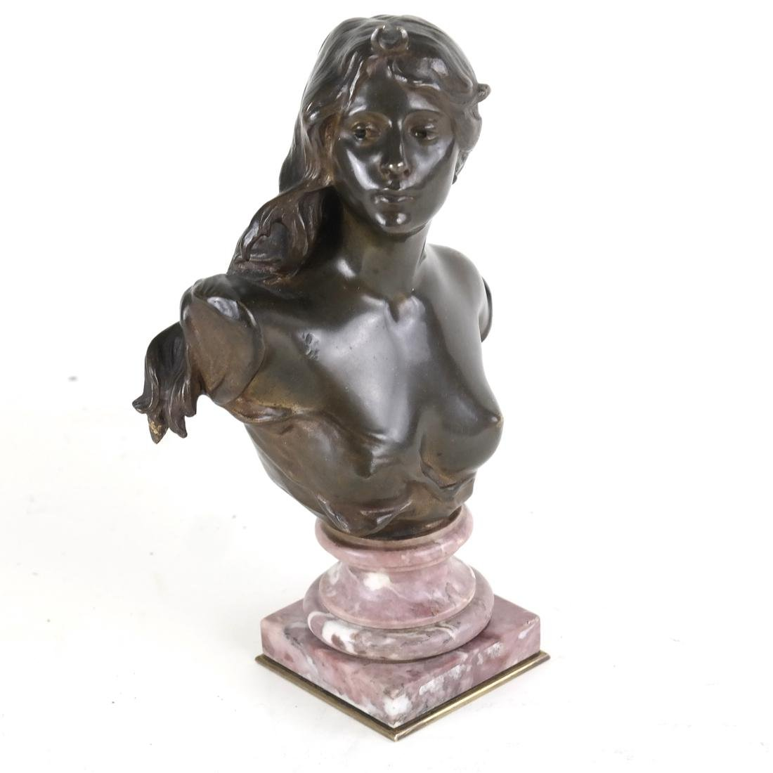 P. Sado, Bronze Bust Of A Lady