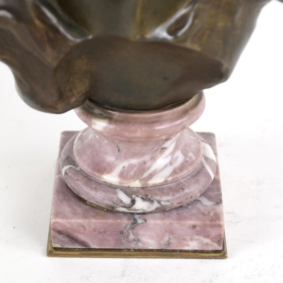 P. Sado, Bronze Bust Of A Lady - 6