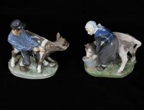 Two Royal Copenhagen Figurines