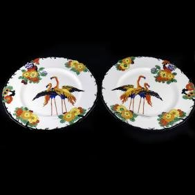 Royal Doulton Flamingo Plates