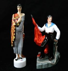 Two Russian Porcelain Figurines