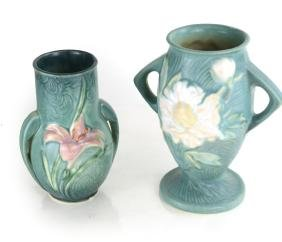 Two Roseville Pottery Vases
