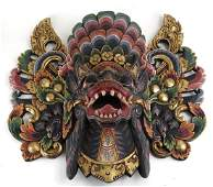 Indonesia Southeast Asian Ceremonial Mask